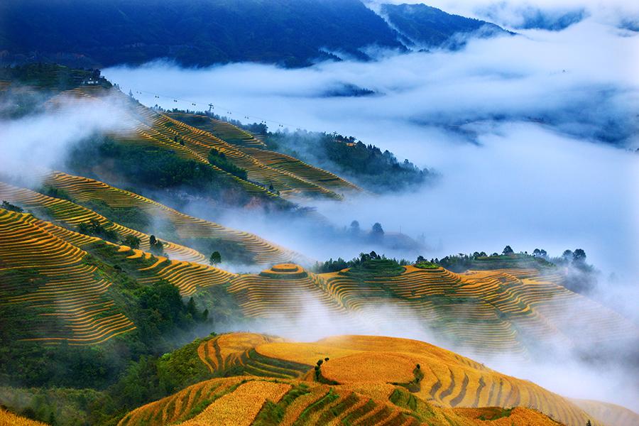 2021年龙脊梯田最美秋色将延长至10月底